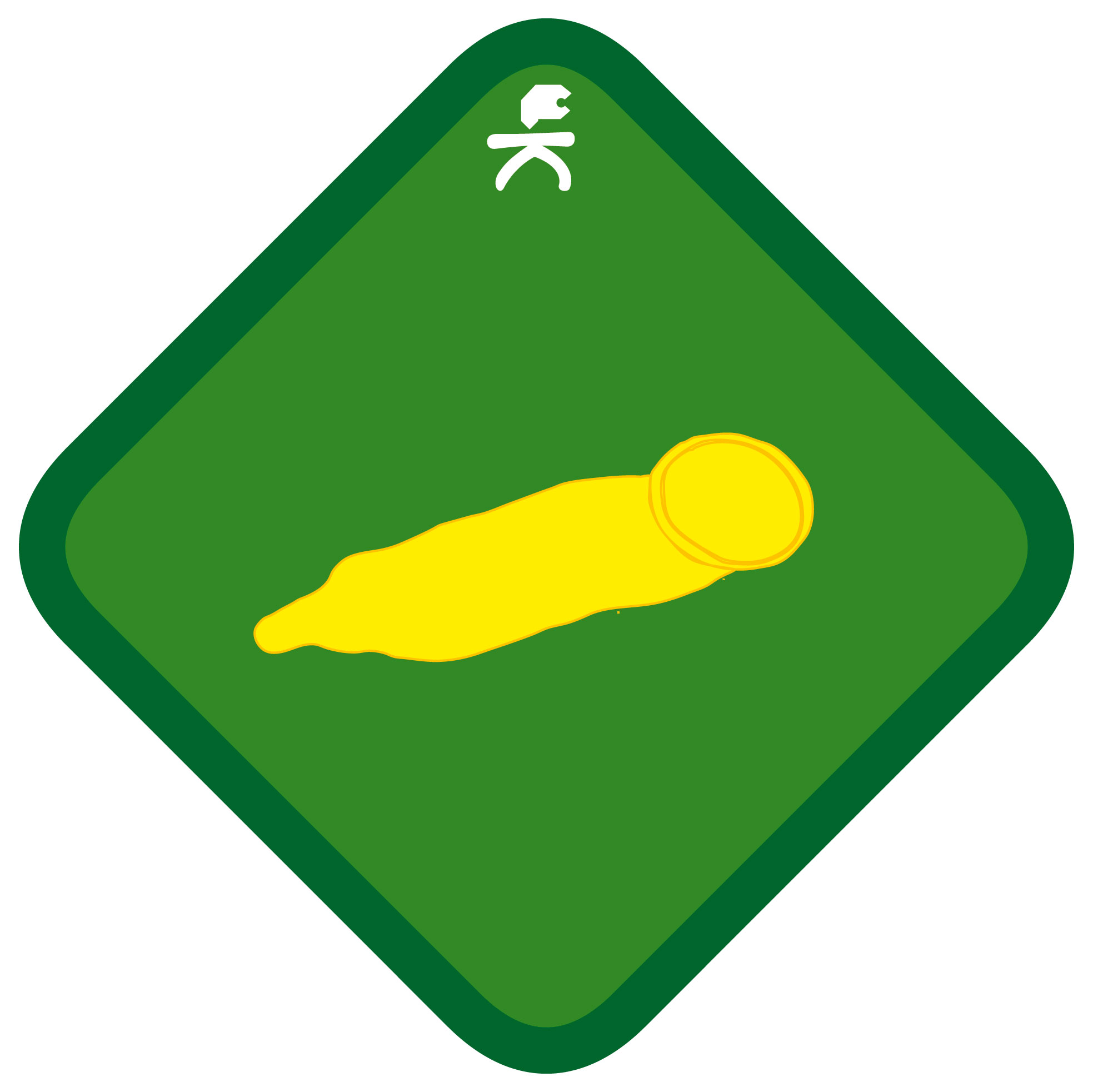 Condom Badge