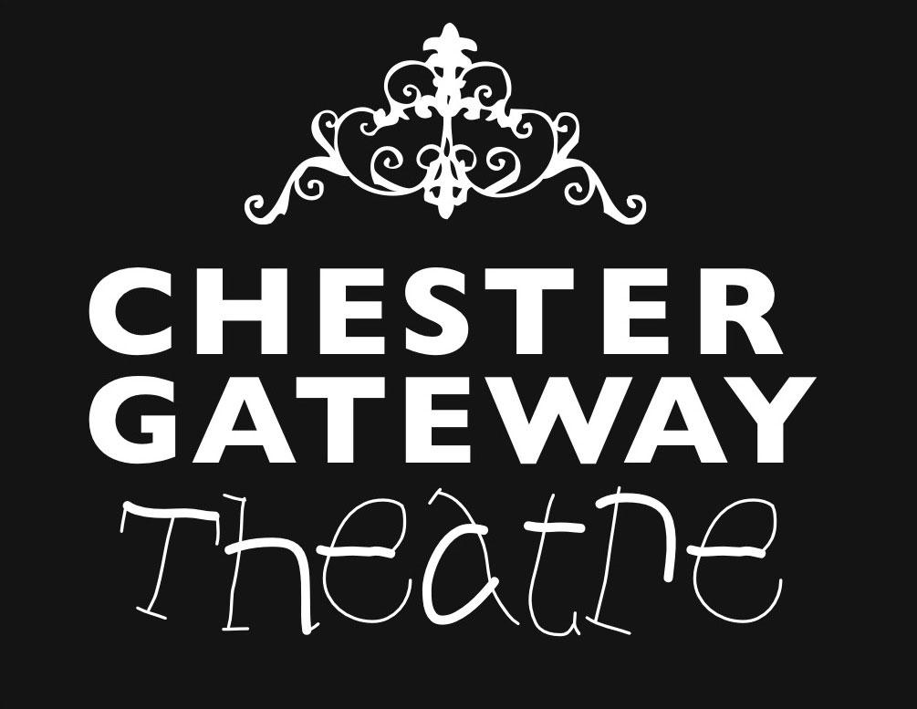 Chester Gateway Logo White on Black