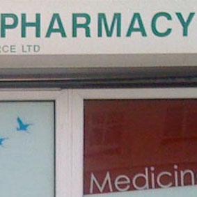 Pharmacy Window Panels